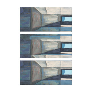 Chute Times Three Acrylic on Canvas Print