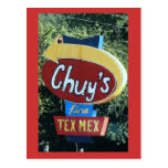 Chuy's Fine Tex Mex Postcard Postcards