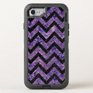 CHV9 BK-PR MARBLE (R) OtterBox DEFENDER iPhone 7 CASE