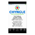 Chyngle Business Cards - Todd