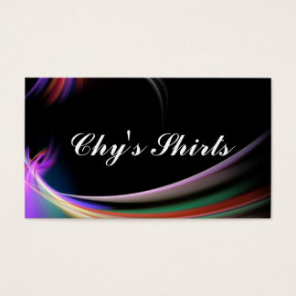 Chy's Shirts Business Card