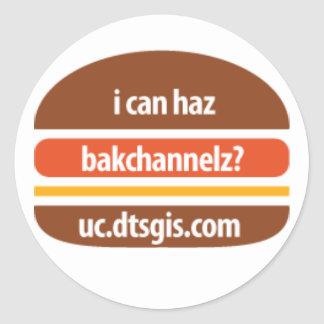 ChzBrgr Sticker