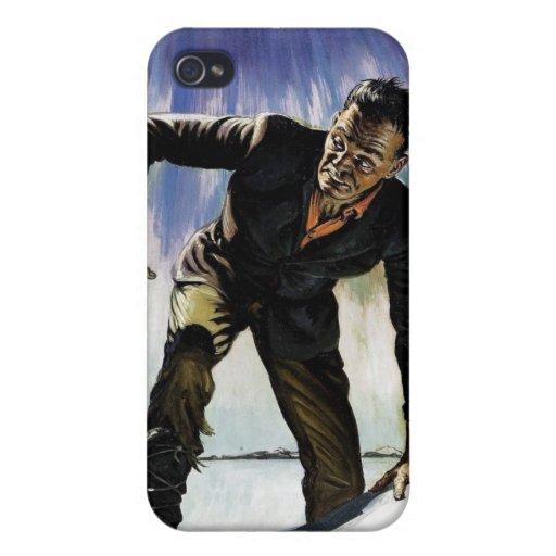 """Ci: Caso del iPhone de """"Frankenstein"""" iPhone 4 Cárcasas"""