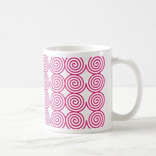 Ci elegante creativo de las rondas del diseño del  taza