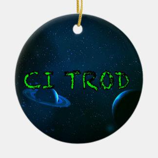 CI Trod The VCVH Records AB .Indie Music LLC.jpg Ceramic Ornament