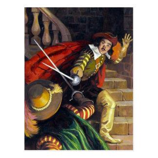 CI: Won By The Sword  Postcard