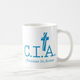 CIA Agents to the Lord Christians In Action Coffee Mug