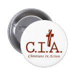 CIA Agents to the Lord Christians In Action Pin