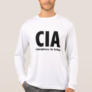 CIA Conspiracy in Action T-Shirt
