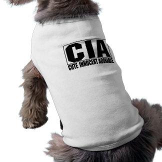 CIA Cute Innocent Adorable Pet Shirt