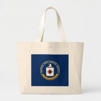 CIA Flag Large Tote Bag