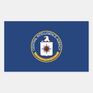 CIA Flag Rectangular Sticker