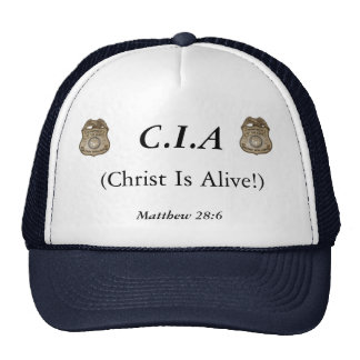 CIA TRUCKER HATS
