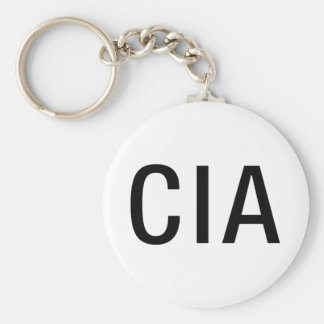 CIA Initials / Letters Keychain