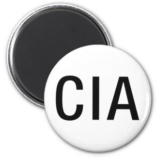 CIA Initials / Letters Refrigerator Magnets