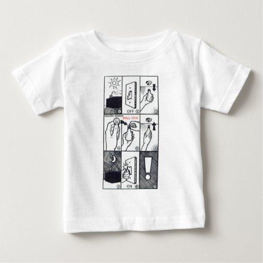 CIA Lightbulb Baby T-Shirt