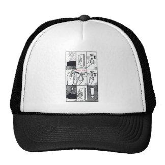 CIA Lightbulb Trucker Hats