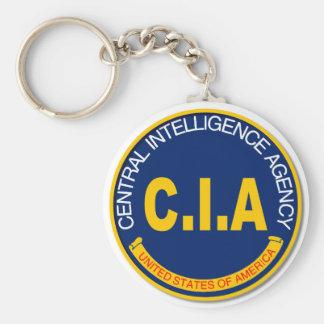 CIA Logo Mockup Keychain