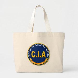 CIA Logo Mockup Large Tote Bag