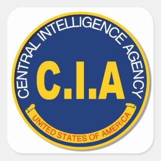 CIA Logo Mockup Square Sticker