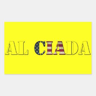 Cia Rectangular Sticker