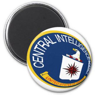 CIA Shield 2 Inch Round Magnet