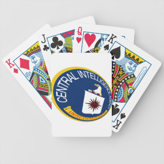 CIA Shield Bicycle Playing Cards