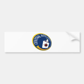 CIA Shield Bumper Sticker