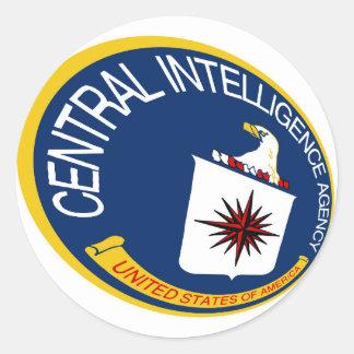 CIA Shield Classic Round Sticker