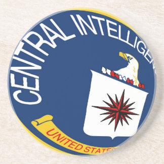 CIA Shield Drink Coaster