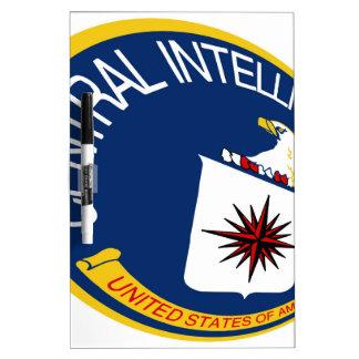 CIA Shield Dry Erase Board