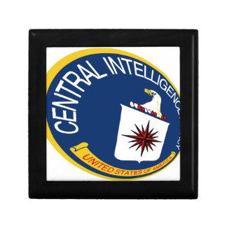 CIA Shield Keepsake Box