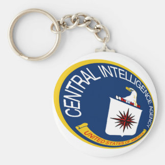 CIA Shield Keychain