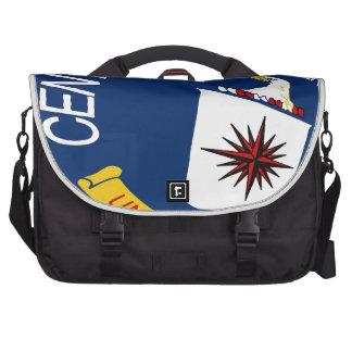 CIA Shield Laptop Messenger Bag