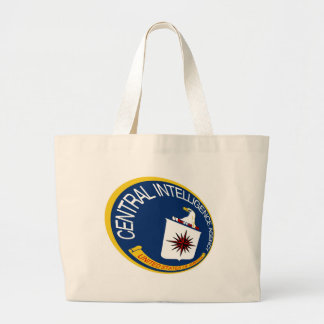 CIA Shield Large Tote Bag