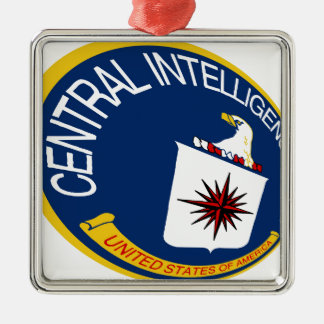 CIA Shield Metal Ornament