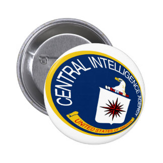 CIA Shield Pinback Button