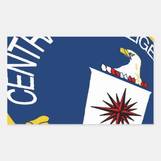 CIA Shield Rectangular Sticker