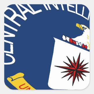 CIA Shield Square Sticker