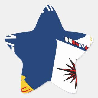 CIA Shield Star Sticker
