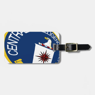 CIA Shield Tag For Luggage