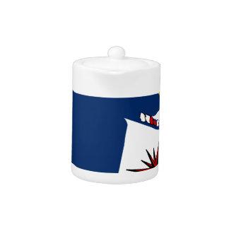CIA Shield Teapot