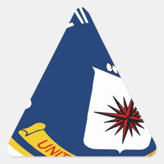 CIA Shield Triangle Sticker