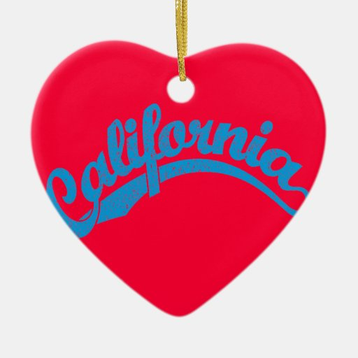 Ciánico apenado adorno de cerámica en forma de corazón