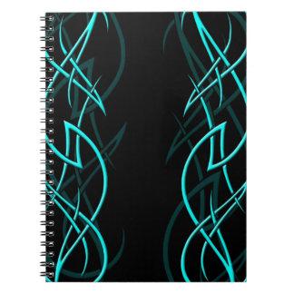 """Ciánico en el cuaderno negro de la """"elegancia"""""""