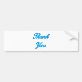 Ciánicos azules le agradecen diseñar los regalos d pegatina para auto