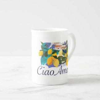 Ciao Amalfi Bone China Mug