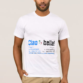 """""""Ciao Bella!"""" American Apparel T-Shirt (Fitted)"""