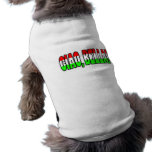 ¡ciao, bella! camisa de perro