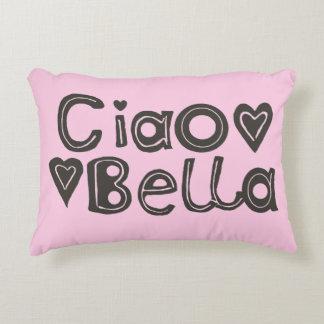 Ciao Bella Light Pink Accent Pillow
